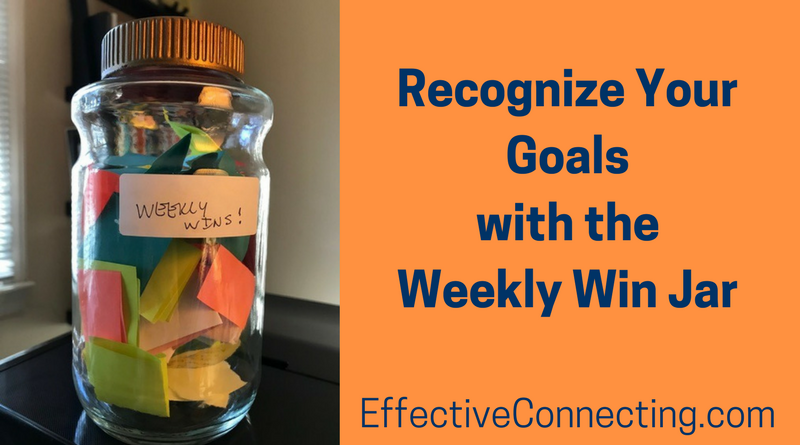 How a Weekly Win Jar Helps you Achieve and Recognize Your Goals